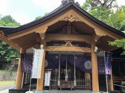 長崎県住吉神社の本殿