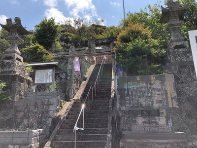 長崎県国津意加美神社の鳥居
