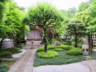 行慶寺の庭園