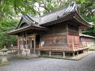 静岡県事任八幡宮の本殿