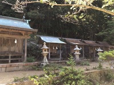 長崎県海神神社の末社
