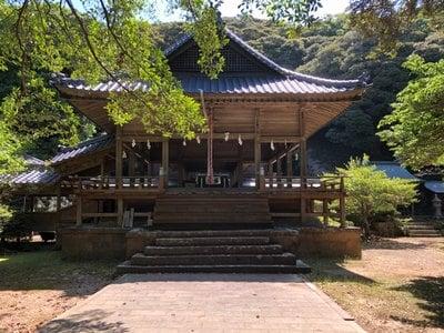 海神神社の本殿