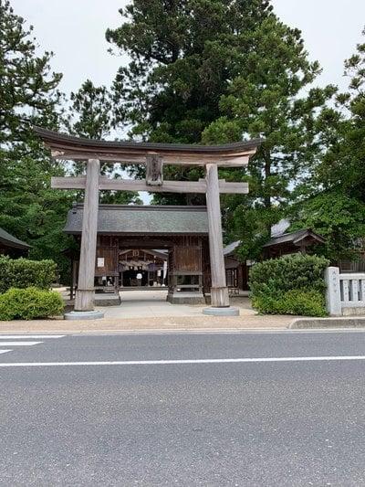八重垣神社の鳥居