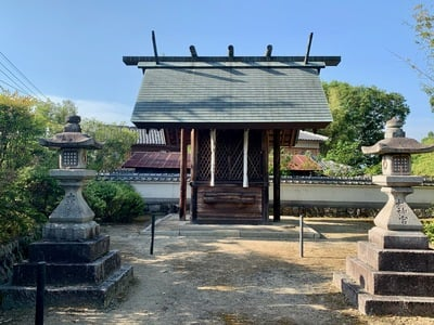 京都府神明社の写真