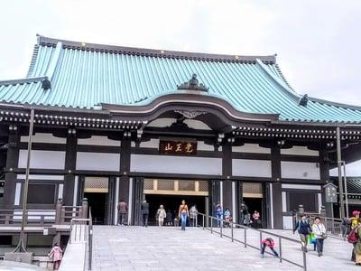 愛知県覚王山 日泰寺の本殿