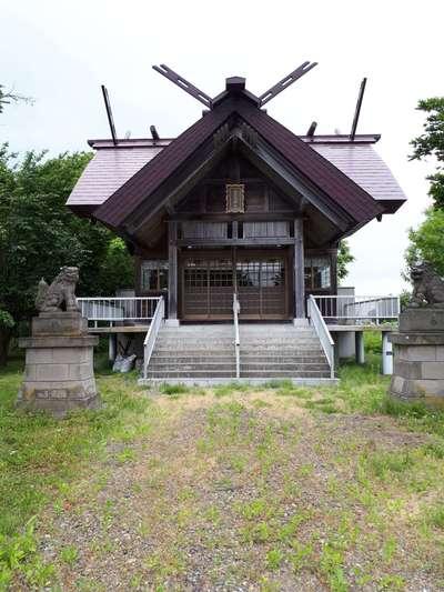 南長沼神社の本殿
