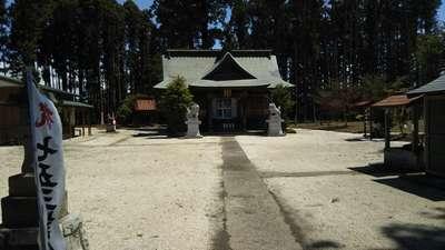鹿嶋三嶋神社の本殿