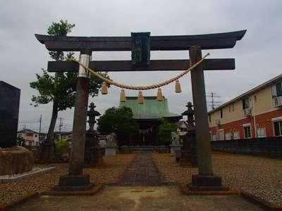 埼玉県中曽根香取御嶽神社の鳥居