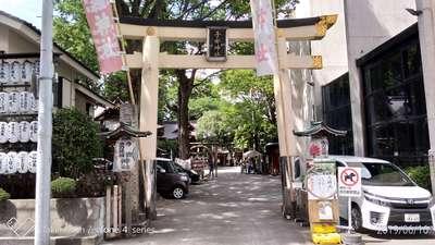 東京都子安神社の鳥居