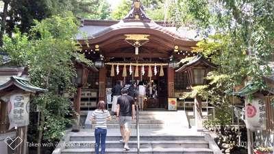東京都子安神社の本殿