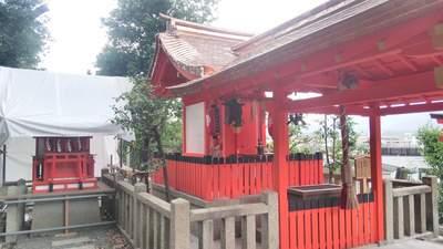 建勲神社の末社