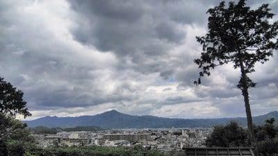 建勲神社の景色
