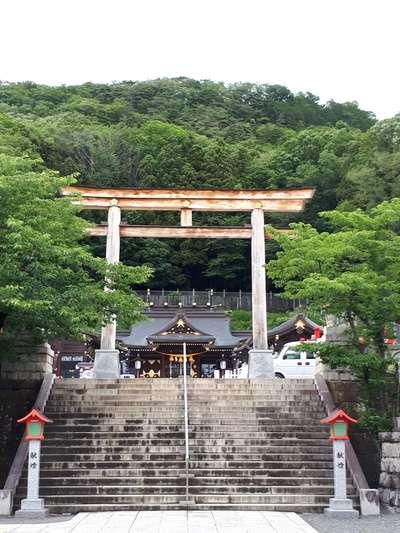 福島県福島県護国神社の鳥居