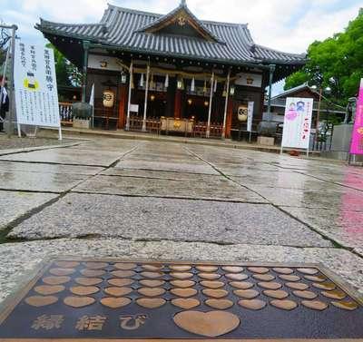 射楯兵主神社の本殿