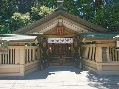 東郷神社の本殿