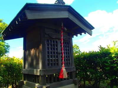 埼玉県水神宮の本殿