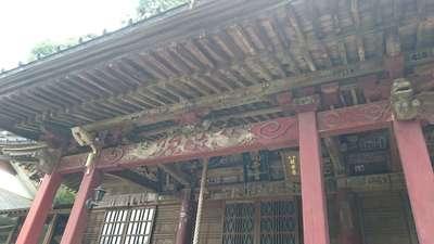 栃木県大平寺の本殿