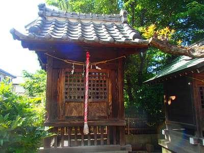 埼玉県東大沢天満宮の本殿