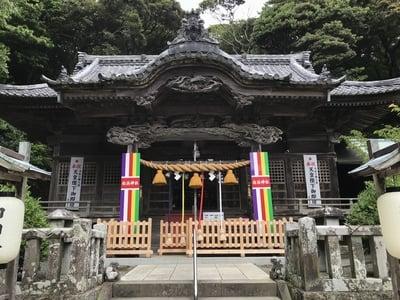 静岡県伊古奈比咩命神社の本殿