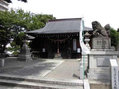 厚木神社の本殿