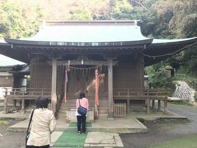 千葉県洲崎神社の本殿