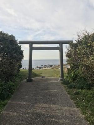 洲崎神社の鳥居