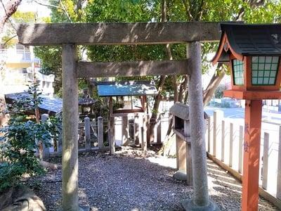 愛知県片山八幡神社の鳥居