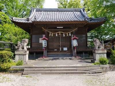 大分県松榮神社の本殿