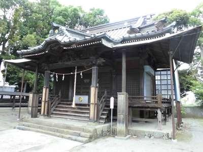 神奈川県八坂神社の本殿