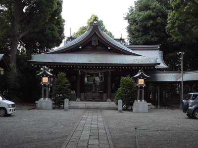 倉見神社の本殿