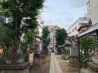 東京都皆中稲荷神社の写真