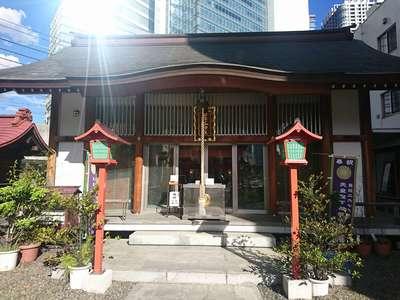烏森神社の近くの神社お寺|日比谷神社