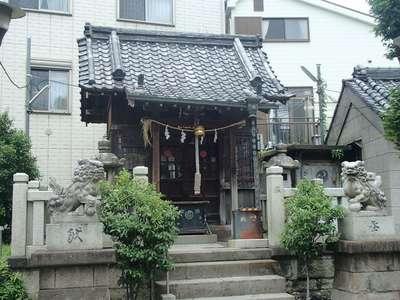 水神社の本殿