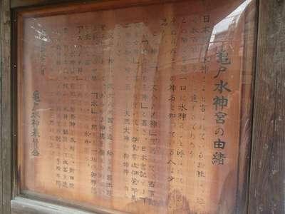 水神社の歴史