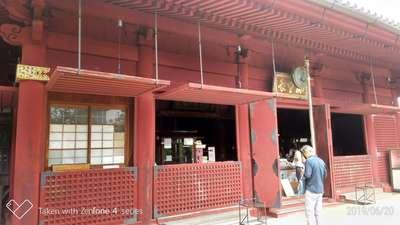 東京都清水観音堂の本殿