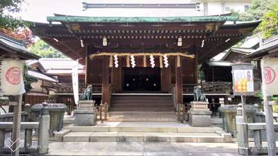 上野東照宮の近くの神社お寺|五條天神社