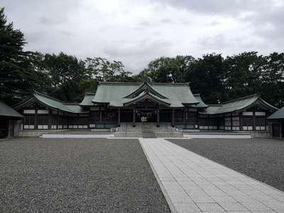 北海道札幌護国神社の本殿
