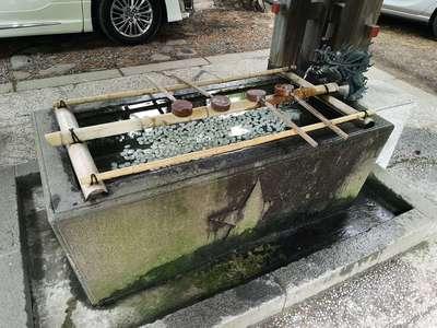 札幌護国神社の手水