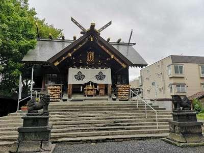 北海道諏訪神社の本殿