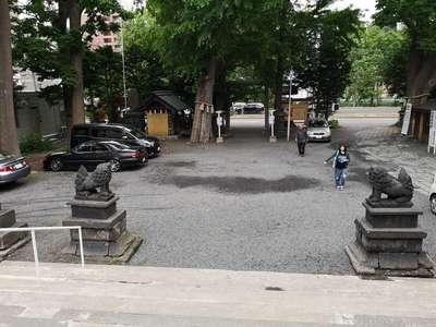 諏訪神社の建物その他