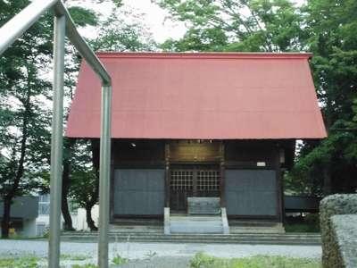 神奈川県神明社の本殿