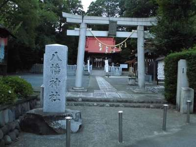 神奈川県旭鎮守八幡神社の鳥居