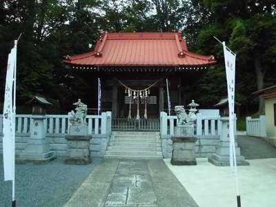 神奈川県旭鎮守八幡神社の本殿