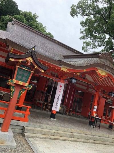 和歌山県熊野那智大社の本殿