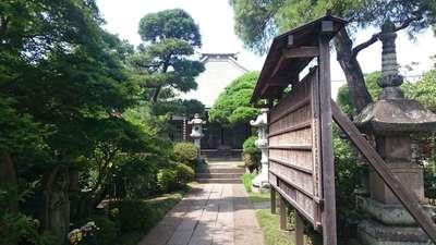 葛西神社の近くの神社お寺|光増寺