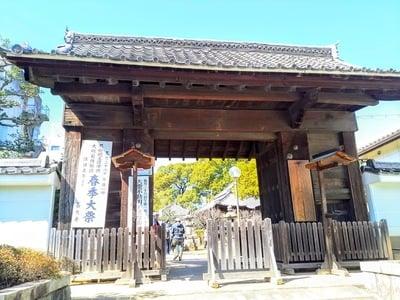 愛知県長久寺の山門
