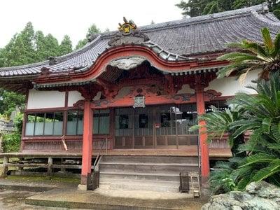 千葉県瘡守稲荷の本殿