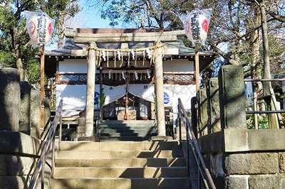 東京都上田端八幡神社の写真