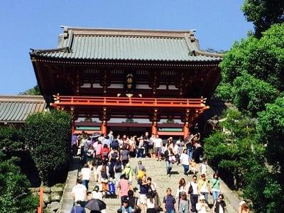 鶴岡八幡宮の山門
