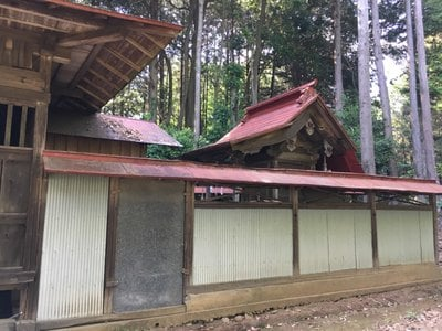 茨城県立野神社の本殿